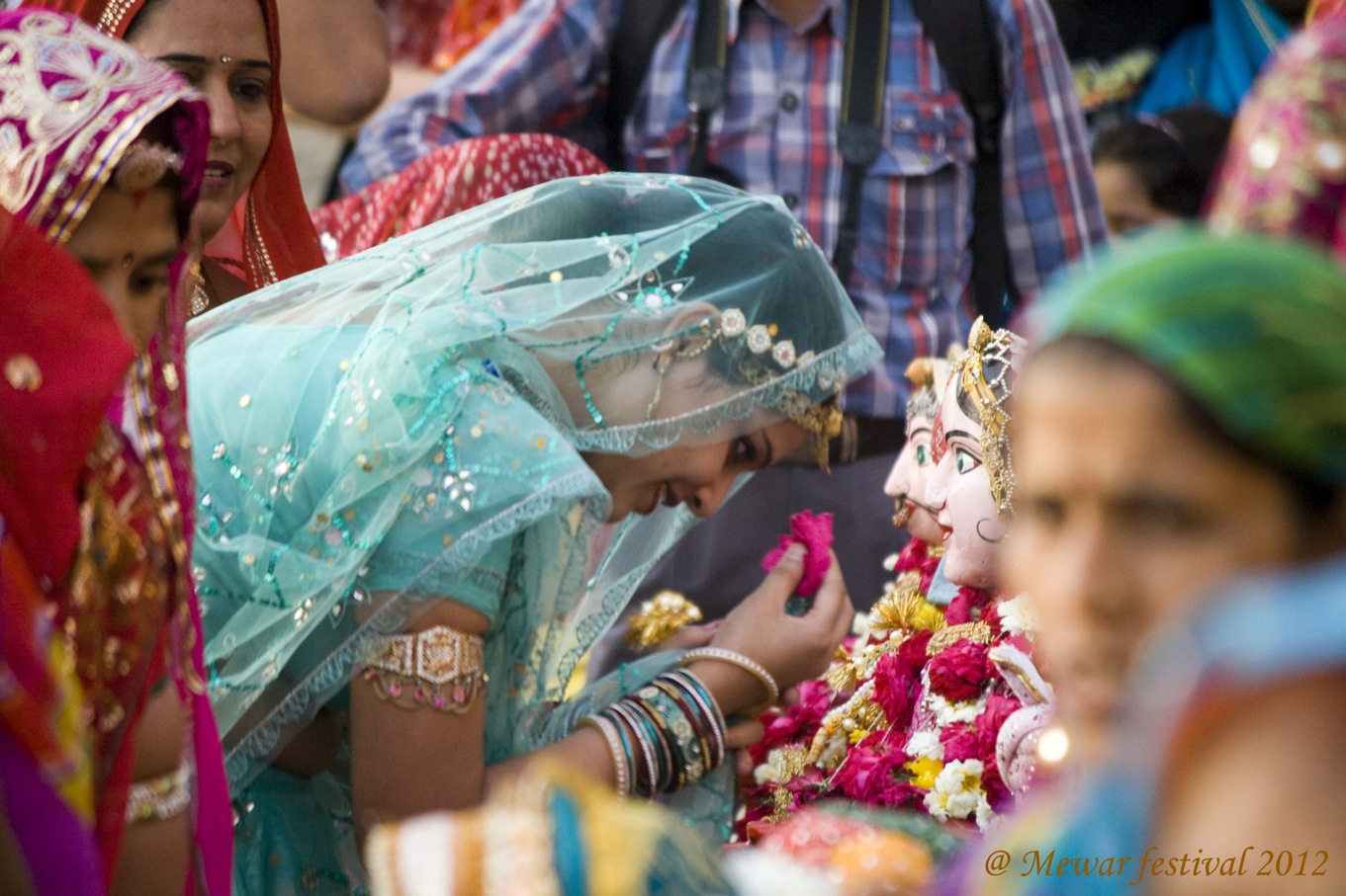 Colors of devotion!!