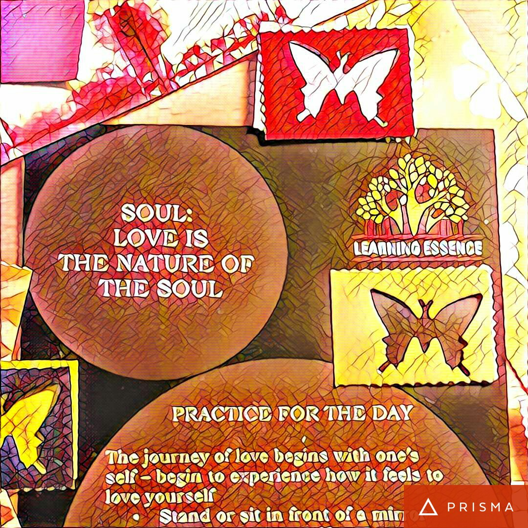 #NaBloPoMo: Day#5: Soul- Love is the nature of the soul!
