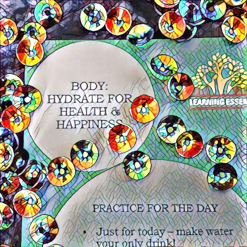 #NaBloPoMo: Day #19: Body- Hydrate for health & happiness