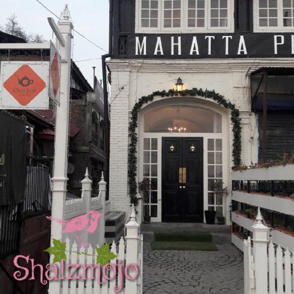 [C ] Chai Zai cafe in Srinagar | #atozchallenge 2017 |