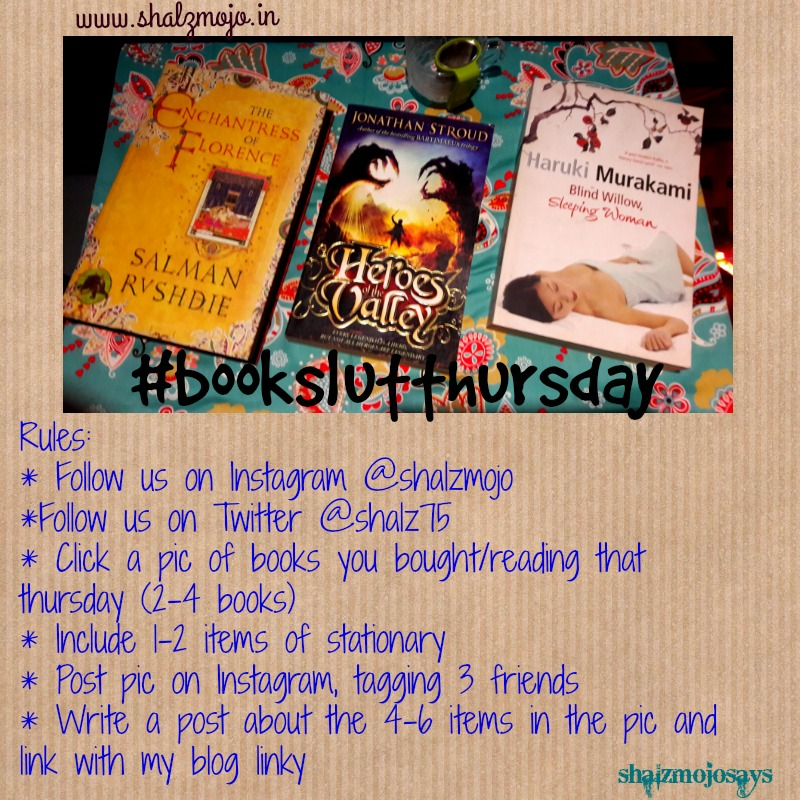 #BookSlutThursday – A new contest for the love of books in Feb 2017