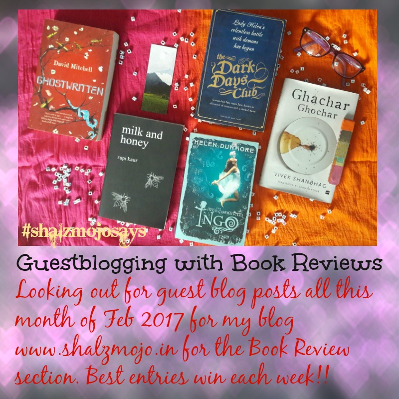 #Contest 2 for February 2017 – Guest blogging Posts for Book Reviews