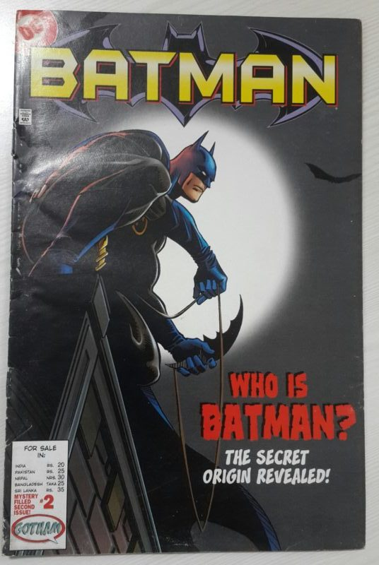 | Guestblogging | Comics | Who is Batman- the secret origin revealed  |  Writer-Devin K Grayson |  Artists -Staz Johnson & James A Hodgkins |