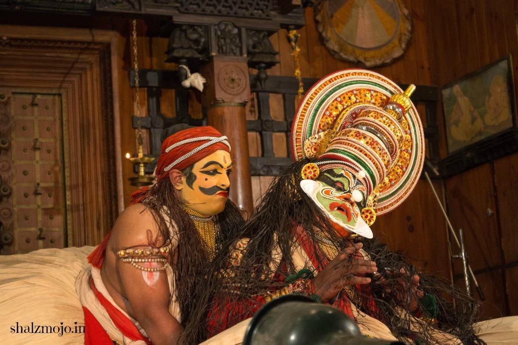 [K] Kathakali in Kochi |#atozchallenge 2017|
