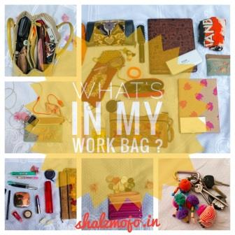 Whats in my Work Bag? [Guestpost]