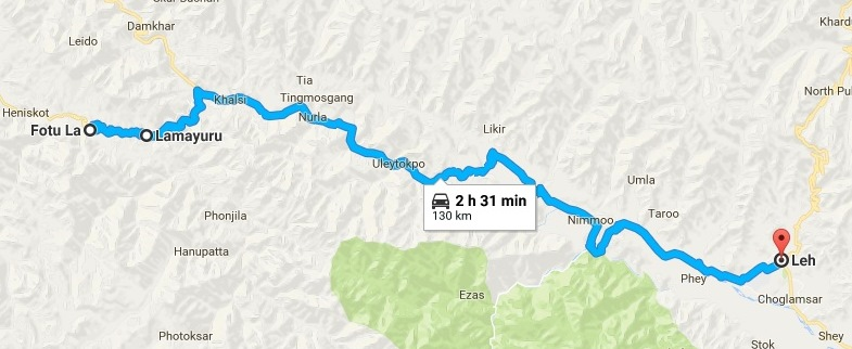   Day-3   Map to a moonland in Ladakh   WriteTribe – Festival of Words 2017  