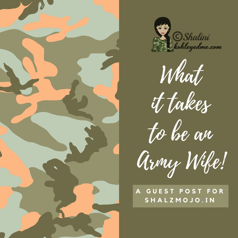 Life as an Army Wife is no ballroom dancing! [ #Guestpost ]