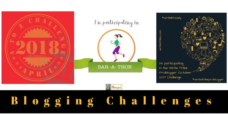 blogging challenges blog writing bloggers